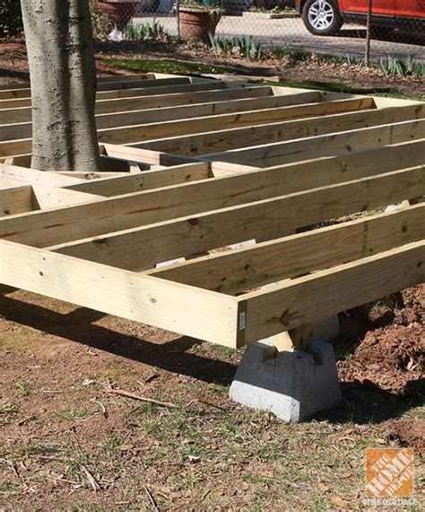 floating deck footing spacing tips and ideas on how to build a floating deck the home
