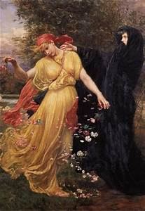 Persephone, and Her Mother, Demeter.   Persephone ...