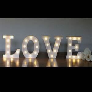 white marquee letters festive lights lights for all With marquee letter lights for rent