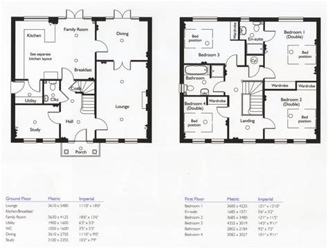2 story 4 bedroom floor plans luxury floor plan modern