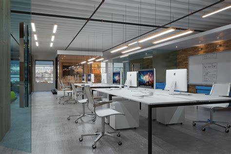 bureau open space office space interior design modern house