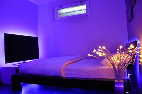 Led Bedroom Lights Decoration Ideas Romantic Lighting For