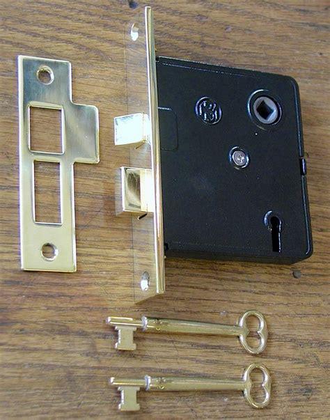 fashioned interior mortise lock