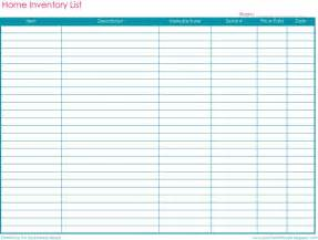 St Inventory Spreadsheet by Free Printable Home Inventory Worksheets Car Interior Design