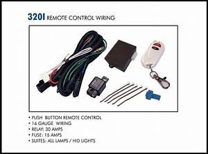 Eagle Eye Lights 320i Push Button Remote Control Wiring