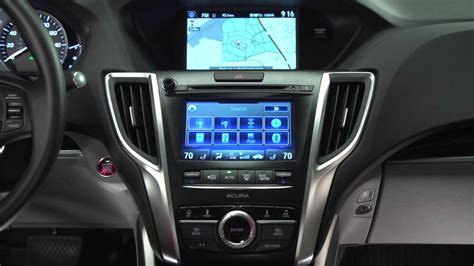 acura  tlx audio system operation youtube