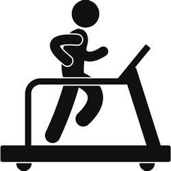 Gym Treadmill Clip Art