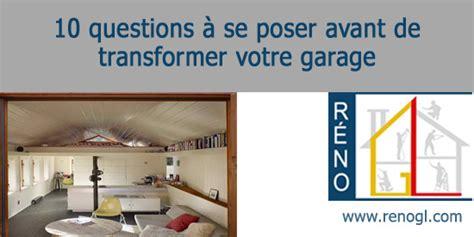 cout pour transformer un garage en chambre cout pour transformer un garage en chambre finition int