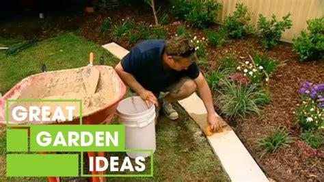 great garden edging gardening great home