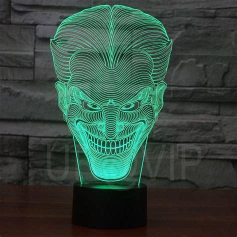 3d illusion table ls joker 3d illusion led bulbing table l night light 2d