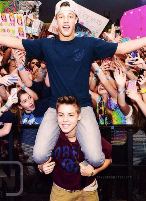 Matt Dallas and Cameron Espinosa
