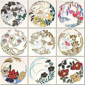 BFC1006 Japanese Quilt Circles II