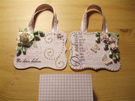 diy handbag style paper gift basket