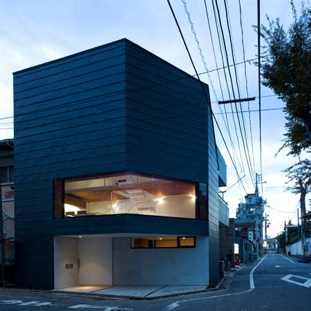 urban home  modern japanese architects modern house