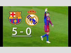 Barcelona vs Real Madrid 50 YouTube