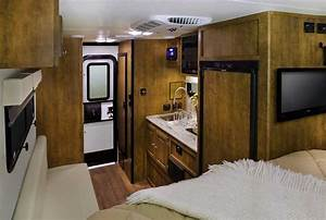 Ford truck campers for Truck camper interior ideas