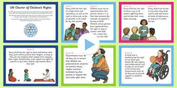 Un Charter Rights Of The Child Powerpoint  Cfe, Health And