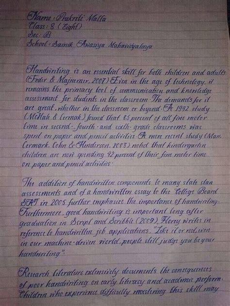 handwriting   world   grade  student
