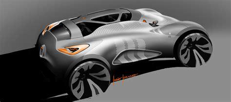 renault captur concept design sketches car body design