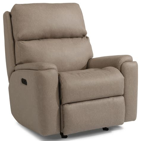 recliner with usb port flexsteel 2904 2904 51h casual power rocking recliner