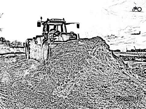 Kleurplaat Machines Landbouw by Foto Fendt 916 457678