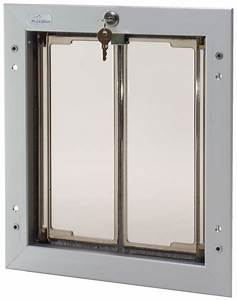 Plexidor pet doors never replace pet door flaps again for Dog door flap material