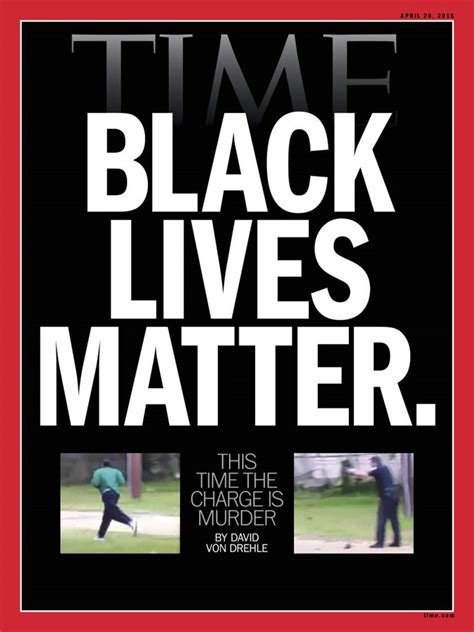 OpEd: Black Lives Matter; A Tale of Two Covers