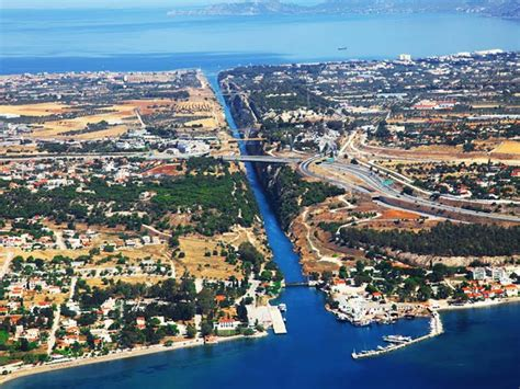 route swim  canal isthmus corinth