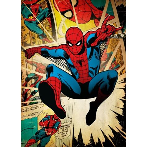 spiderman vintage poster artwall