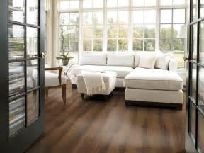 Laminate Wood Flooring in Living Room