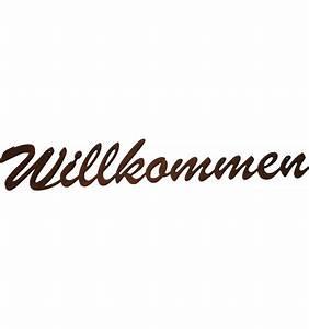 Herzlich Willkommen Bilder Zum Ausdrucken : schriftzug willkommen edelrost metallmichl ~ Eleganceandgraceweddings.com Haus und Dekorationen