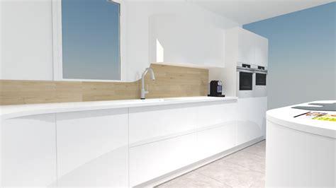 cuisine futuriste image ilot de cuisine 12 une cuisine futuriste blanche