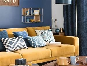 les 25 meilleures idees de la categorie murs bleu fonce With couleur pastel pour salon 2 1001 idees creer une deco en bleu et jaune conviviale