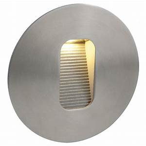 Firstlight st round outdoor ip recessed step wall