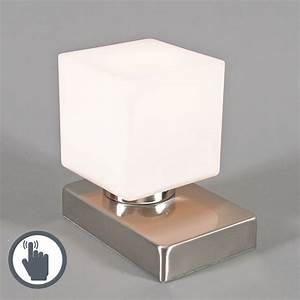 Touch Me Lampe : table lamp touch me square steel ~ Eleganceandgraceweddings.com Haus und Dekorationen