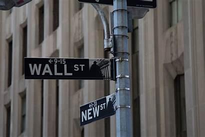 Wall Street Sign Hedge Bezos Jeff Fund