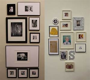 Family wall photos for room decoration decorating