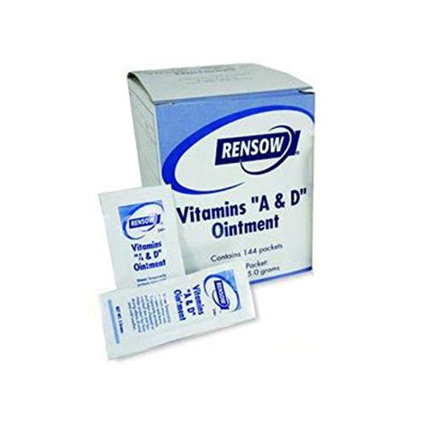 vitamin ointment uses improvement