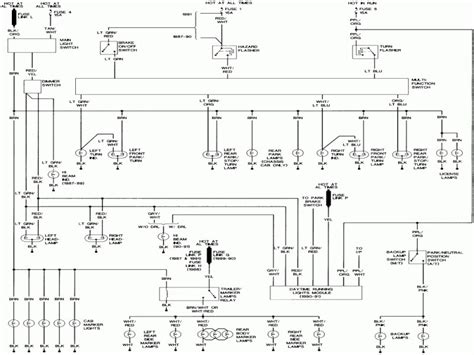 1995 ford f 150 headlight switch wiring diagram wiring forums