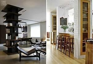 Come approfittare delle colonne e dei muri di sostegno per arredare casa (Fotogallery