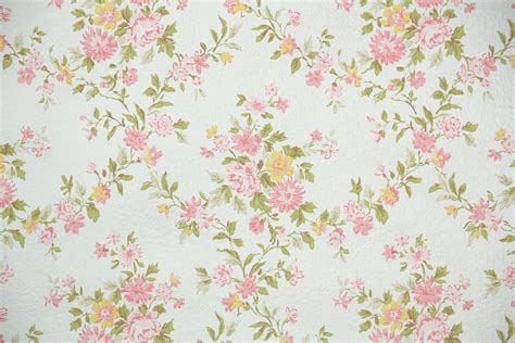 Small Kitchen Design Ideas Pictures - 1960s floral vintage wallpaper hannah 39 s treasures vintage wallpaper