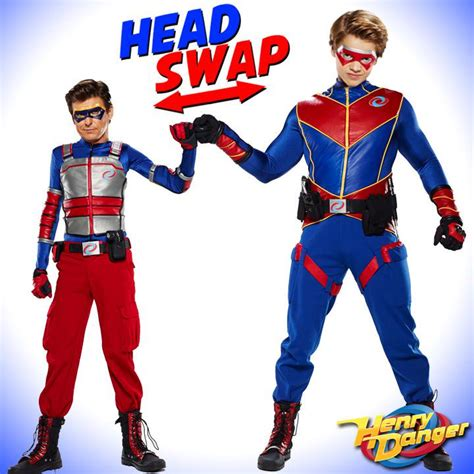 head swap meet kid man  captain danger scoopnest