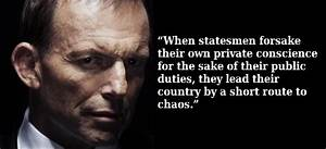 The facets of A... Tony Abbott Misogynist Quotes
