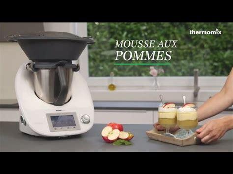 ecole de cuisine thermomix la mousse aux pommes au thermomix tm5 recette issue des cours de cuisine