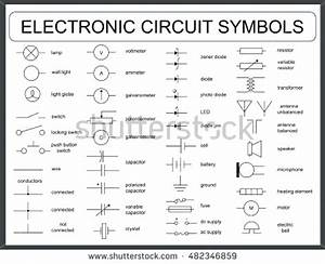 Wiring Diagram Symbols Circuit Relay Symbol Gm With In