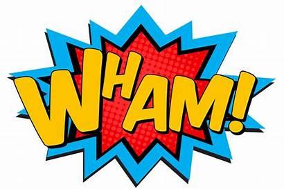Pop Superhero Clipart Batman Comics Pow Words