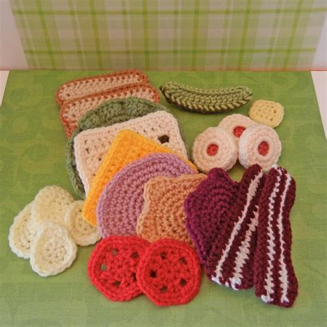 crochet cuisine amigurumi food let 39 s do lunch by craftykt941948 craftsy