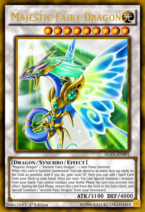 majestic fairy dragon  alanmac fairy dragon yugioh