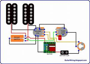 Single Electric Guitar Wiring Diagrams