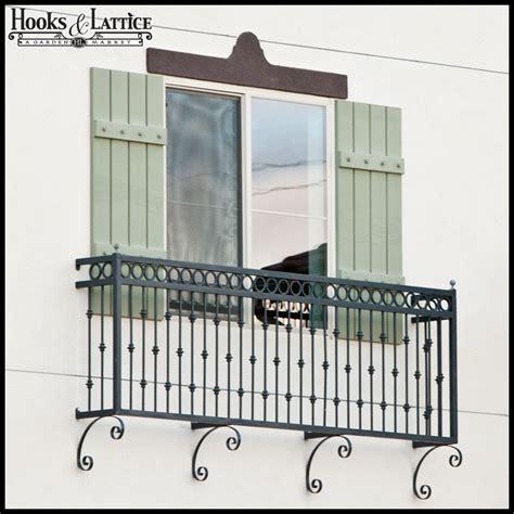 juliet balcony faux balcony balconet hooks lattice